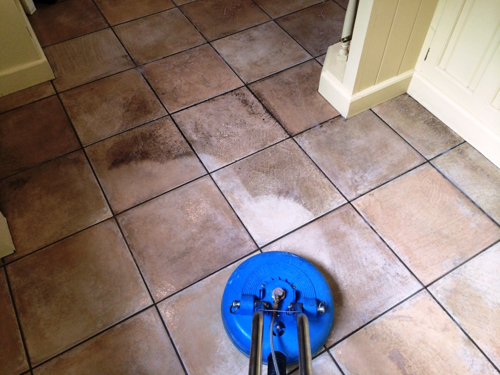 Dirty Tile and Grout Resolved in Maidenhead During Cleaning