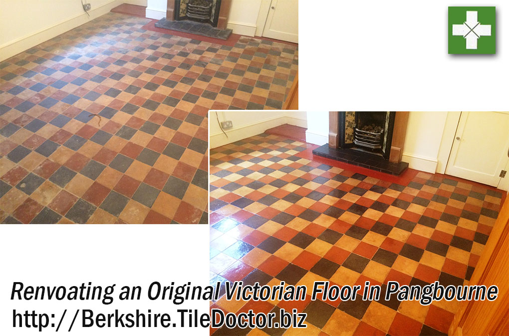 Victorian Floor Before and After Renvoation in Pangbourne