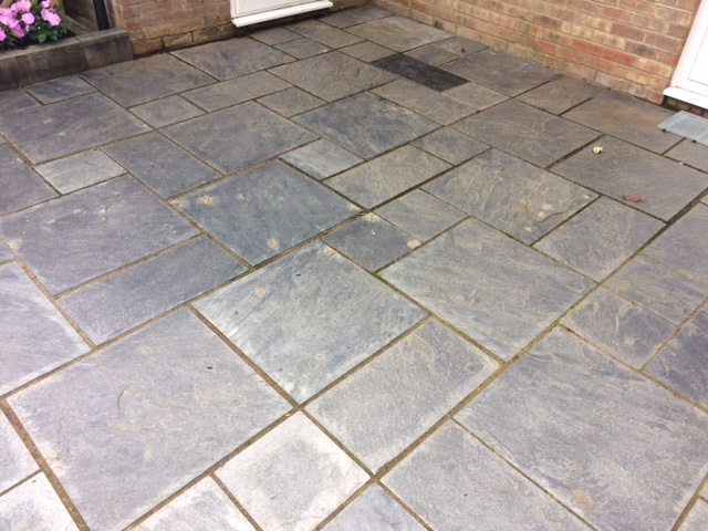 Exterior Slate Before Renovation Thatcham