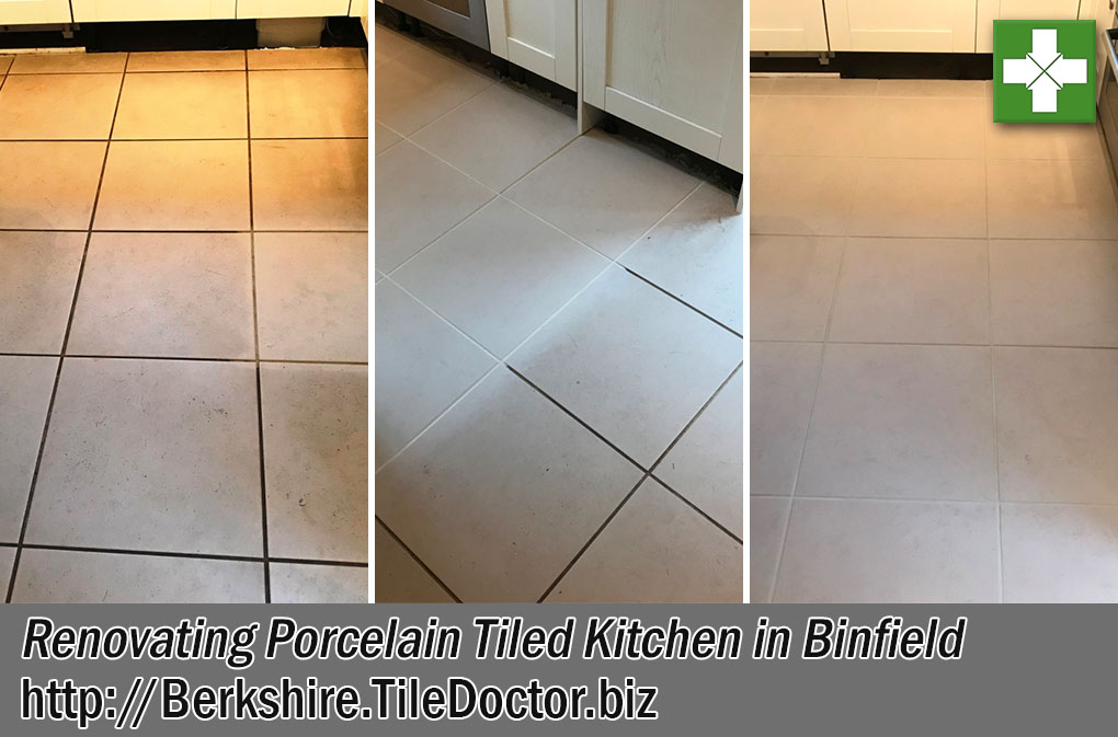 Grout Colouring Porcelain Tiles in Binfield