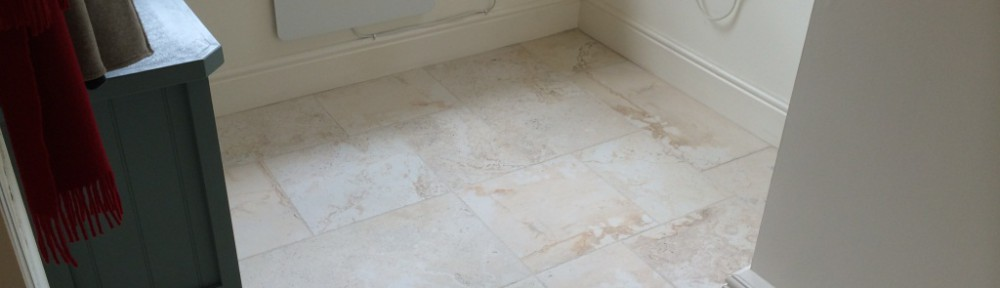 Porcelain Marble Effect Floor Cleaned in Maidenhead