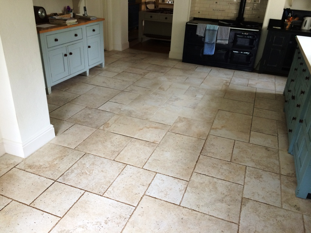 Kitchen Porcelain Tiles And Grout Refresh