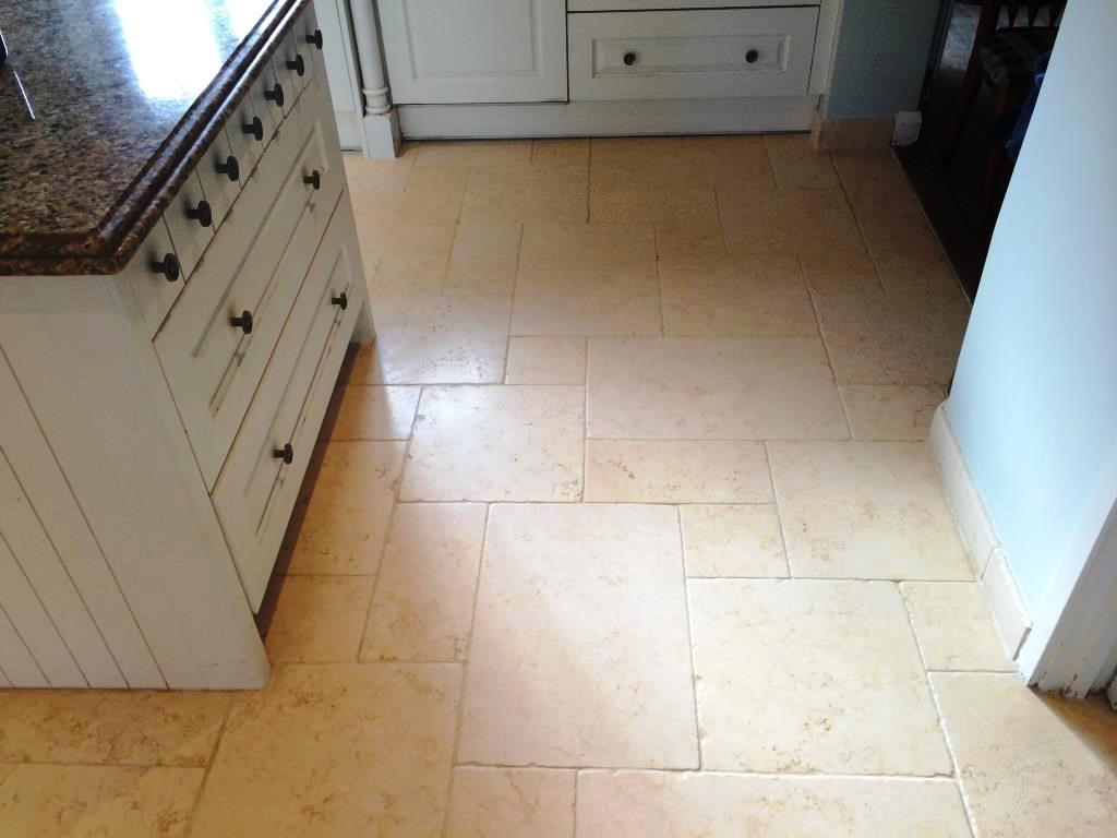 Limestone Kitchen Floor Stains After Sealing