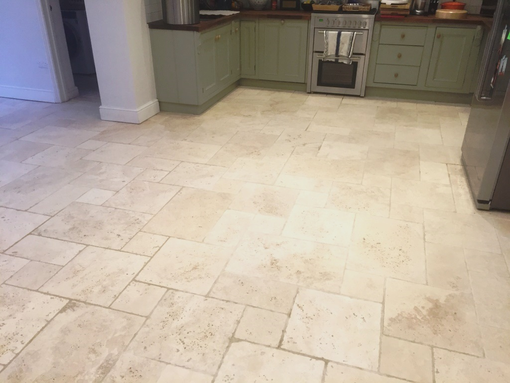Limestone Floor After Cleaning Maidenhead