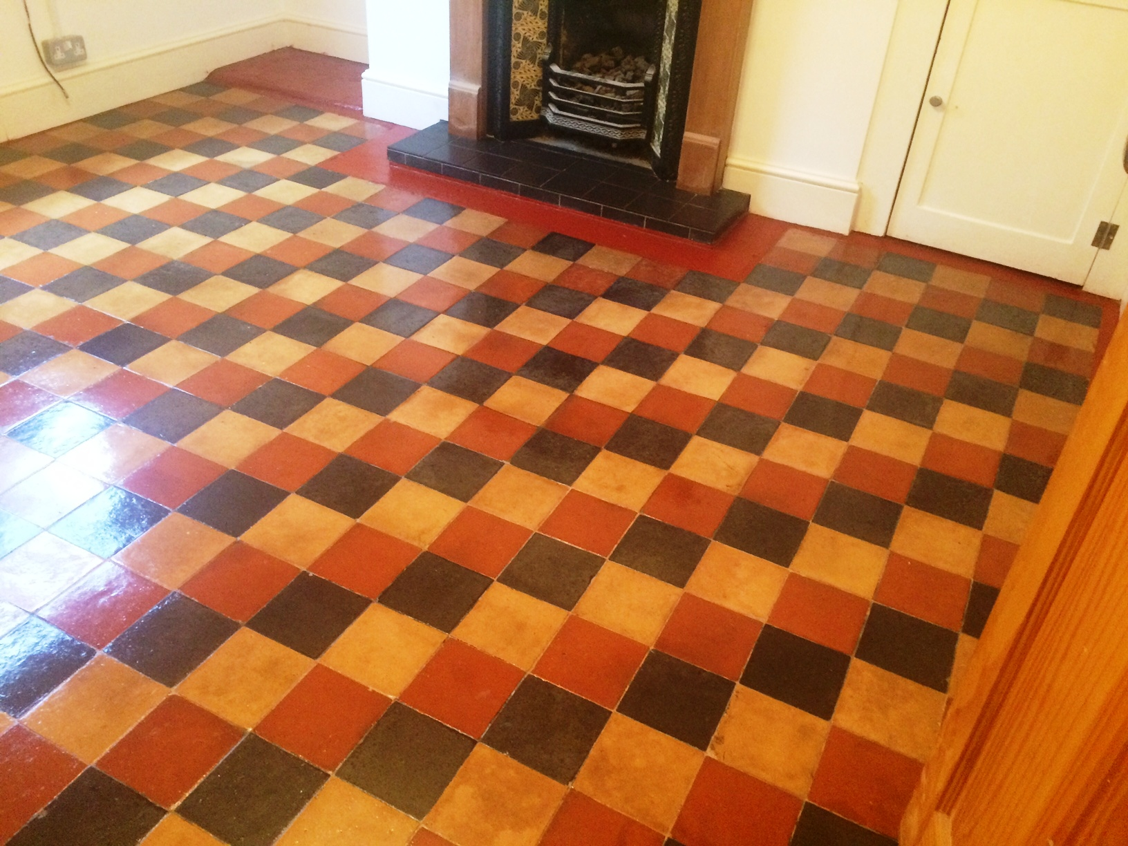 Cleaning and maintenance advice for victorian tiled floors removing carpet imprint from victorian floor tiles in yorkshire doublecrazyfo Gallery