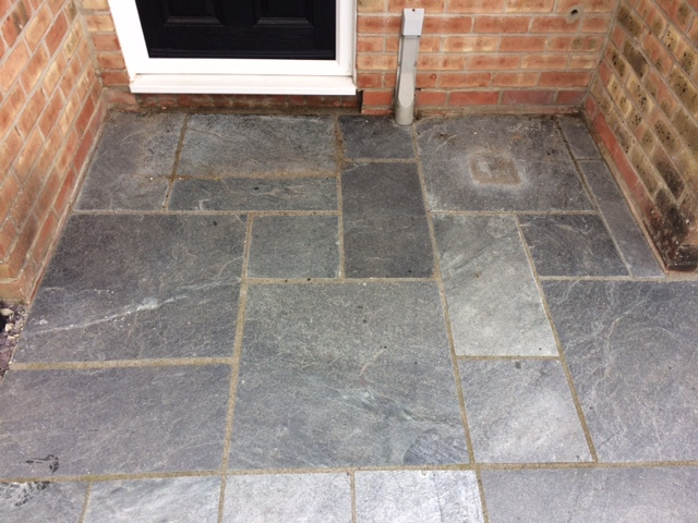 Removing Sticky Coatings From Slate Floor Tiles Part 92